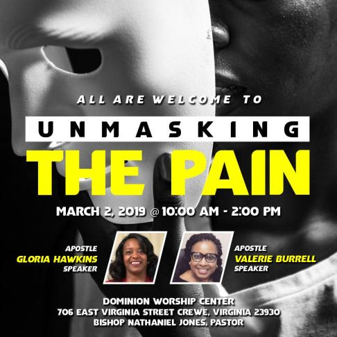 unmasking the pain all